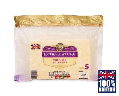 British Extra Mature Cheddar 350g ,  £1.75 @ Aldi