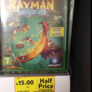 Rayman Legends Xbox One £15 @ Tesco in store