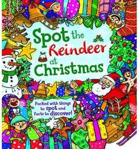 Spot the Raindeer at Christmas - Book £4.99 @ bookdepository
