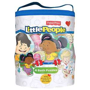 Fisher-Price Bath Puzzles - Reduced to Clear @ John Lewis - £4.49 - FREE Click 'n' Collect