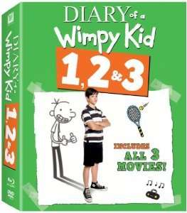 Diary of a Wimpy Kid 1-3 DVD £5 @ Sainsbury's Instore