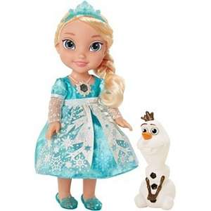 Disney Elsa Snow Glow Doll in stock at Amazon Now. Sold and dispatched by Amazon £34.99