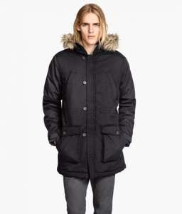 Men's Parka jacket £23.99 40% off from H and M