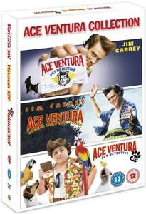 Ace Ventura Triple (DVD) @ Amazon.co.uk (A2Z Entertains) (Fulfilled By Amazon) - (Free Delivery £10 spend/Prime)