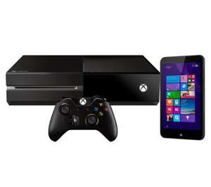 "xbox one with extra controller and 32gb 7"" hp tablet £379.99 @ Currys"