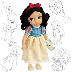 Disney Store Snow White,Mulan Animator's doll £12 with codes,for purchases over £50 and other discounts-please read!