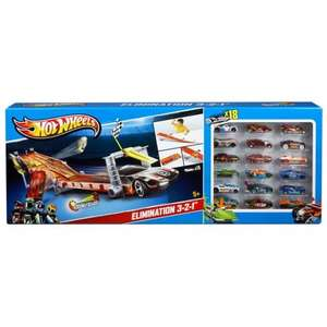 Hot Wheels 4 Lane Raceway with 18 Cars (in-store only) £29.99 @ Smyths Toys
