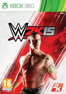 WWE 2K15 Xbox 360 £19.99, Watch Dogs Xbox 360 £18.00 Amazon