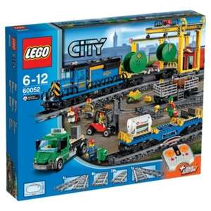 Lego City Cargo Train 60052 £99.99 @ tescodirect. @ direct.asda. @ smythstoys. @ toysrus.