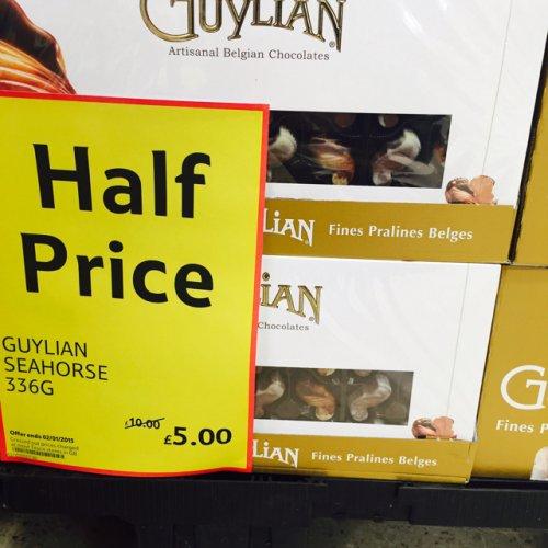 Guylian Belgium chocolates 336G £5 @Tesco