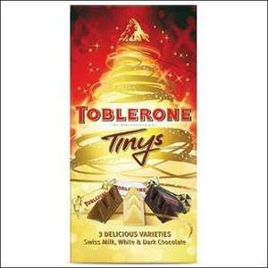 Box of mini /  bite size Toblerone now £2 at sainsburys.  Instore and Online