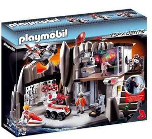 Playmobil Secret Agents HQ- only £39.96@Toys'r'us