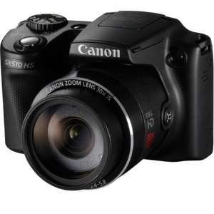 Canon powershot SX510 12 mp bridge camera black £119.99 @ Argos