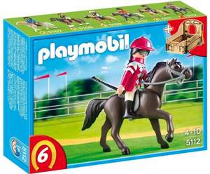 Playmobil Racehorse with Stall - £2.96 Amazon (70% off & Free add-on delivery)