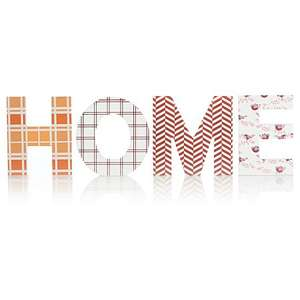 Asda george home wooden patterned  letters £4
