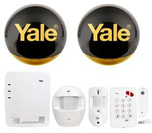 Yale Easy Fit Smartphone Alarm with PIR Camera and App- £349.98 @ ebuyer- £331.61 after cashback