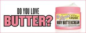 Free 10ml sample of Soap and Glory Sugar Crush Body Butter (Click go to deal link)