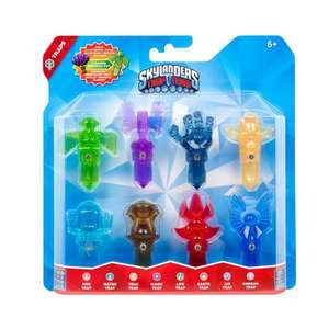 Skylanders Trap Team 8 Trap Pack £39.99 Argos