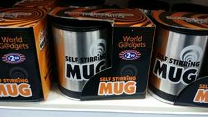 self stirring mug £2.99 b&m
