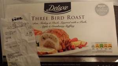 Three bird roast delux £8.99 @ Lidl