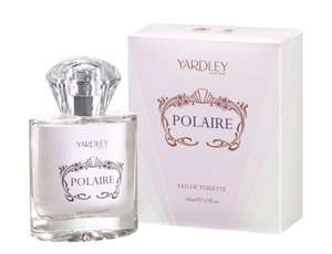 Yardley Polaire EDT perfume RRP£20 50ml £3.19 @ Amazon Add on item