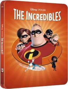 The Incredibles - Zavvi Exclusive Limited Edition BluRay Steelbook (The Pixar Collection #10) (3000 Only)