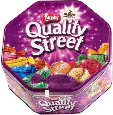 Tub of quality street just £3.99! At Aldi.