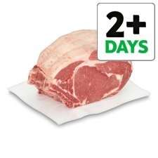 Counter Tesco British Beef Bone In Rib Joint Was £18kg now £9 Kg. Half Price instore !