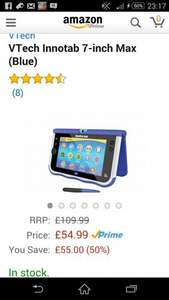 VTech Innotab 7-inch Max blue and pink £54.99 @ Amazon