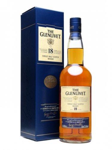 Glenlivet 18 old 70cl in blue presentation box - £20 instore @ Tesco