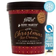 25% OFF Tesco Rémy Martin Cognac Christmas Ice Cream (500ml) £2.25 at tesco