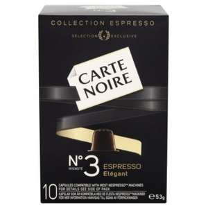 Carte Noire Espresso Number 3 Elegant 10 Coffee Capsules 53 g (Pack of 4) £5.99 delivered @ Amazon (Sold by PremiumBrands-4-Less)