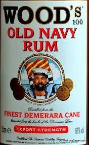 Woods 100 Old Navy Rum £19.00 @ Sainsburys