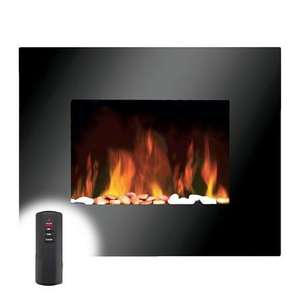 Remote Control Wall Mounted Fire / Heater - Only £79.00 @ Dunelm - FREE Reserve & Collect - Showing as New Arrival & Maybe New Stock Price