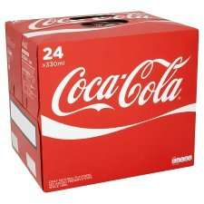 Coca Cola /Diet Coke/  Coke Zero 24pk £5.00  @ Tesco until 01/01/15
