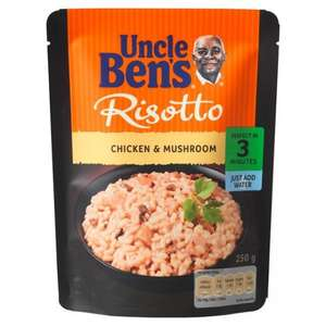 Uncle Bens Risotto 2 for £2 @ Tesco Express Instore