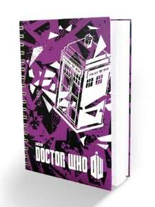 Doctor Who A6 Notebook @ Amazon - £2.99  (Add-on item Free Del £10 order)