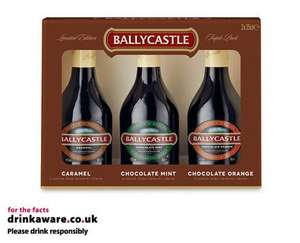 Aldi Ballycastle Irish Cream Selection Pack - £9.99