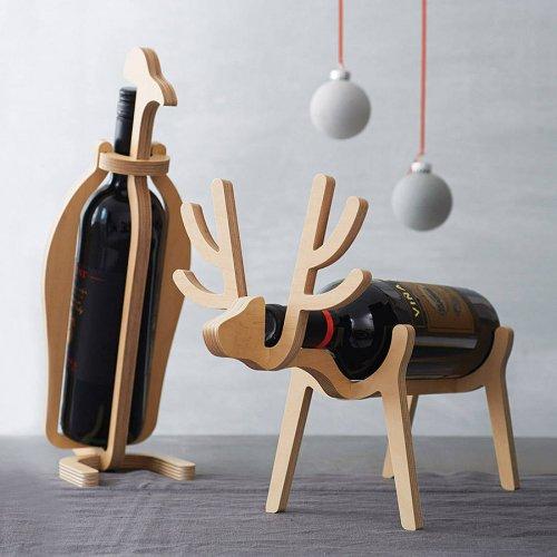 Penguin or Reindeer Wine Rack (Your Choice!) £25.75 @ notonthehighstreet.com