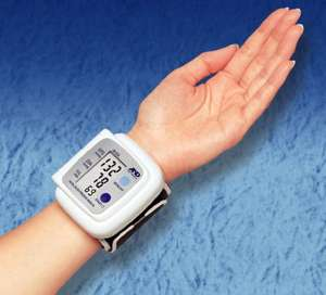 AND/a&d wrist blood pressure monitor sainsbury 8.75