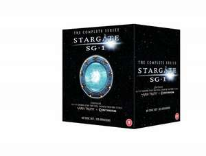 Stargate SG1 seasons 1-10 + The ark of truth and Continuum with free delivery £71.85 @ Amazon Or £50 @ Play.com