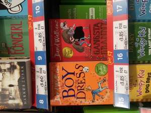 David Walliams Books 2 for £7 @ Asda