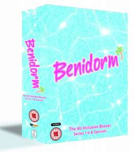Complete Series of Benidorm Series 1-6 Box Set (13 DVDs) & 2 specials only £23.99 @ BBC SHOP