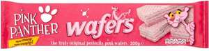 Rivington Pink Panther Wafers - Vanilla (185g) was 85p now 5 packets for £2.00 @ Iceland