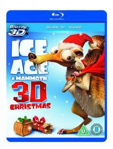 Ice Age: A Mammoth Christmas (Blu-ray 3D + Blu-ray) £5.40  (free delivery £10 spend/prime) Amazon (only 24 minutes long)