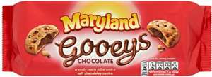 Maryland Gooeys Chocolate Cookies (160g) was £1.79 now 2 for £1.60 @ Morrisons