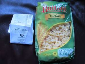 Morrisons Buitoni Farfalle 49p, Tyrells Popcorn £1, Signature Sweet Pointed Peppers 99p @ Morrisons