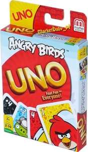 UNO ANGRY BIRDS or DISNEY PLANES GAME 99p INSTORE @ Home Bargains