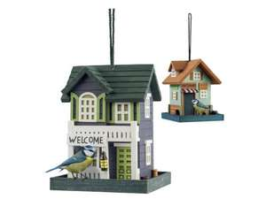 Novelty Bird House £6.99 - LIDL 22nd December - Other bird friendly deals in description - Don't make this a Christmas Turkey for all the birds -The birds visiting your garden love a good feast at Christmas just as much as we do