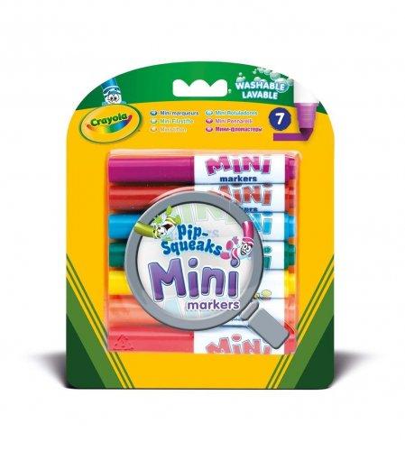 Crayola - 7 Mini Markers (add on item) £1.00 Amazon